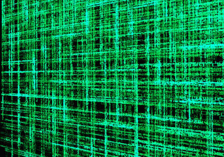 cryptogram: Background green lettering.