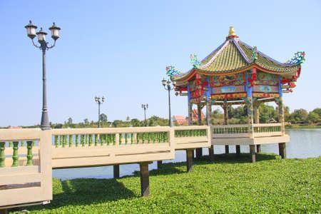 chinese courtyard: Shrine