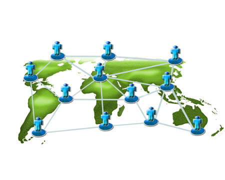 Network infrastructure business plans. Stock Photo - 11994565