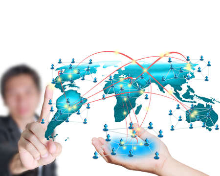 Network infrastructure business plans. Stock Photo - 11994570