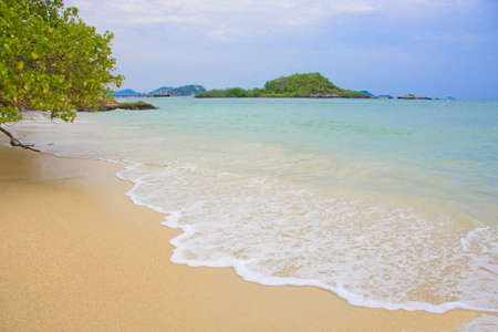 beach and tropical sea island. Stock Photo - 12251704