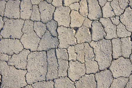 mud wall: The old road. Stock Photo