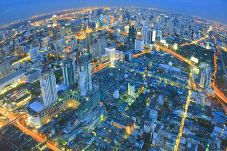 after sunset - Bangkok nightlife  photo