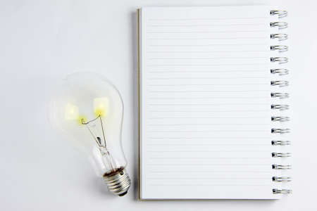 notebook is light  The new thinking and ideas  photo