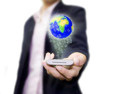 Call the world Stock Photo - 12915272