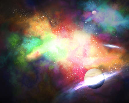galaxy Orion in the universe
