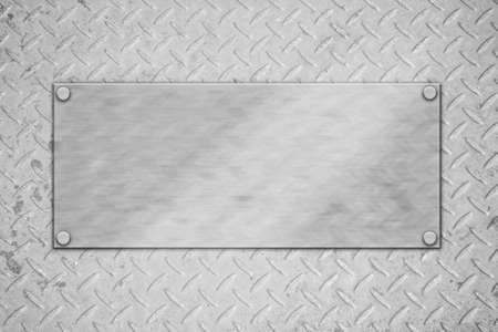 metal plate template or pattern  Stock Photo - 12915615