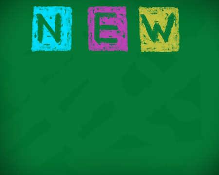 blankness: The new background blackboard