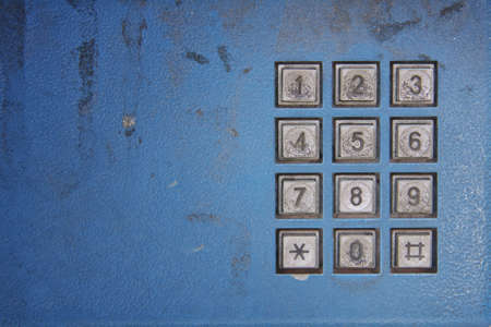 cordless phone keypad old Stock Photo - 13166914