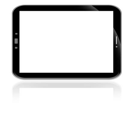 Modern digital tablet PC with mobile smartphone Stock Photo - 13318112