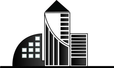 vector buildings Stock Vector - 13332507