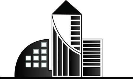 construction management: vettore edifici