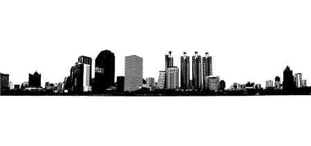 office building - vector illustration  Vector