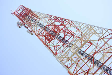 Antenna with blue sky  Stock Photo - 13526820