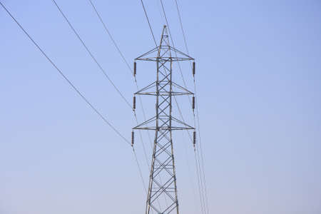 power transmission tower  Stock Photo - 13526795