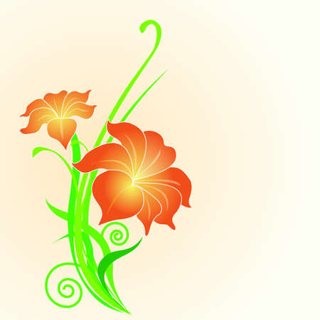 Flower background Stock Vector - 13526873