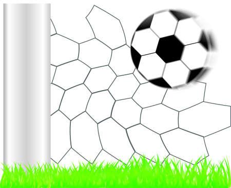 playoff: Football background   Illustration