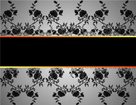 Seamless vintage background Vector background for textile design  Wallpaper, background, baroque pattern Stock Vector - 13652681