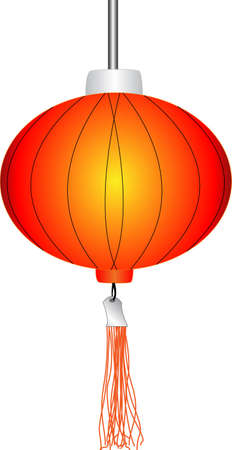 Chinese Red Lanterns Stock Vector - 13775163