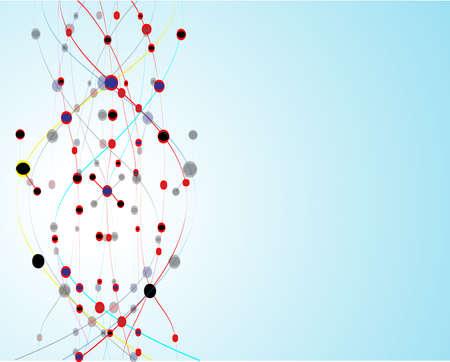 alternating: ADN de fondo mol�cula Vectores