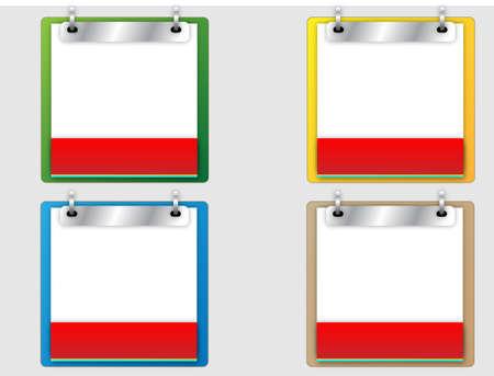 Vector Calendar Set  Stock Vector - 13931649
