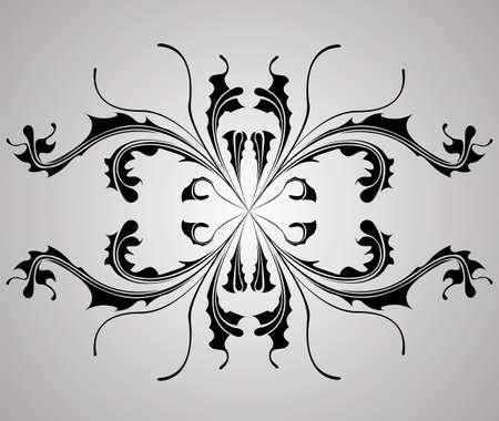background with flower dahlia. Element for design. Vector illustration. Stock Vector - 14180431