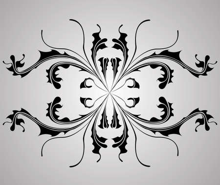 background with flower dahlia. Element for design. Vector illustration.  Vector