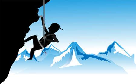 Sport Climbing Sport Climbing  Vector