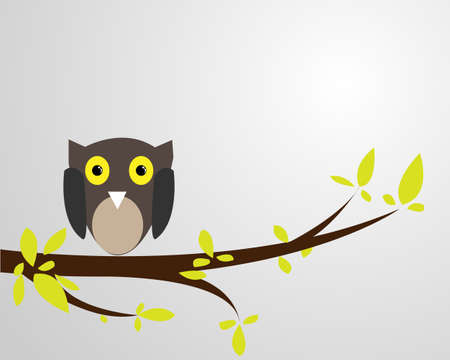 Branches birds Vector