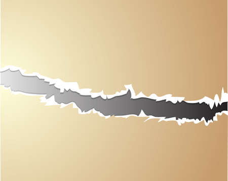 Vector ripped paper - abstract background  Vector