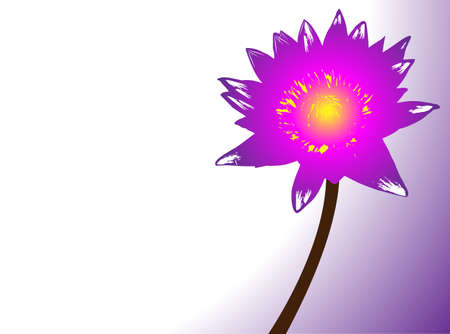 peaceful background: Vector Lotus