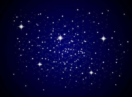 갤럭시 빛나는 별과 행성