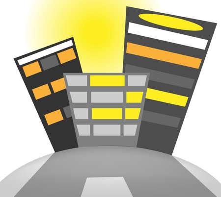Building Stock Vector - 15312456