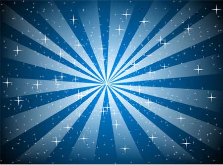 Star Burst Background Stock Vector - 15410659
