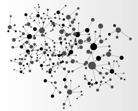 molecula: Mol�cula fondo Vectores