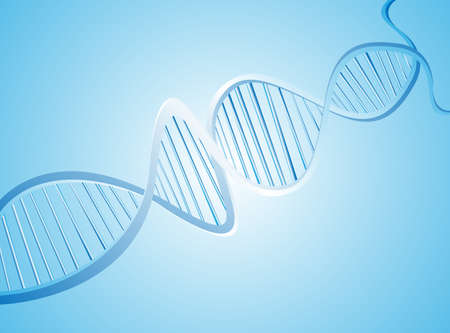 researches: Abstract medical background with colorful DNA