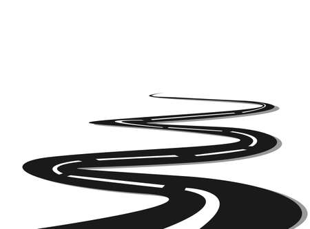 curve road:  road