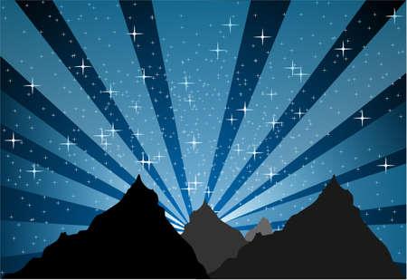 Mountain stellar light