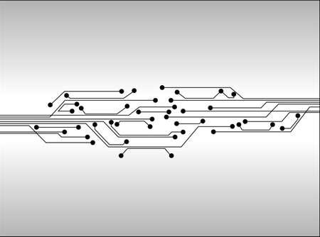 printed circuit board: circuit num�rique fond