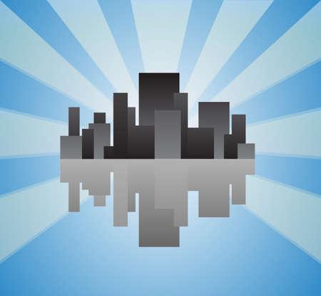 City Stock Vector - 16946715