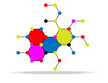 molecular medicine  Stock Vector - 16946708