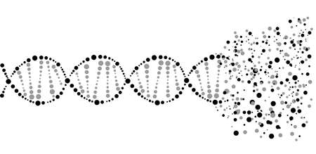 dna icon: Medical chromosome