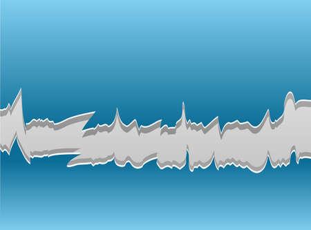 tear off: Paper vector