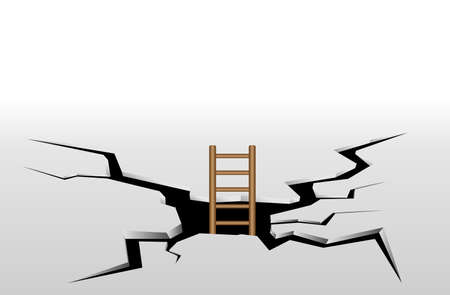 crack climb: Staircase cracks