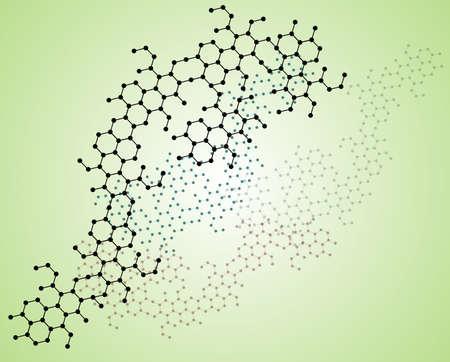 vector  molecular: Molecular Medicine chromosome vector EPS 10
