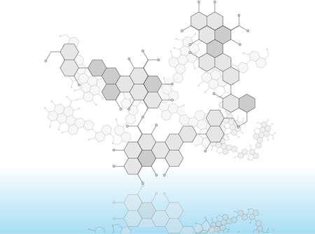 Molecular Medicine chromosome Stock Vector - 19498958