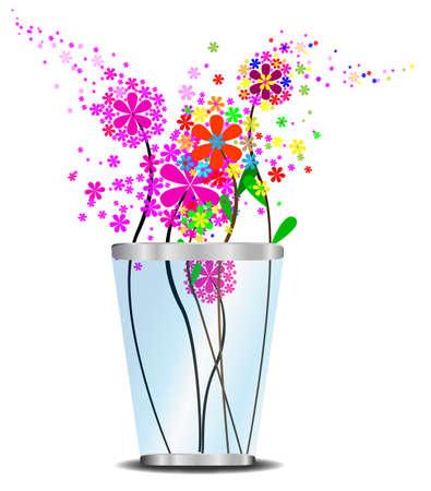 gerber: Flowerpot Vector