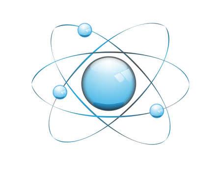 原子のベクトル モデル  イラスト・ベクター素材