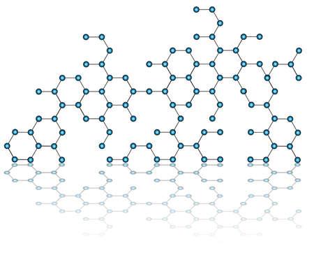 Molecules cells vector  Stock Vector - 22068809