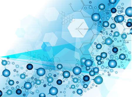 molecule Medical background Vector Stock Vector - 22567395
